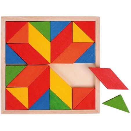 Bigjigs mozaiek puzzel