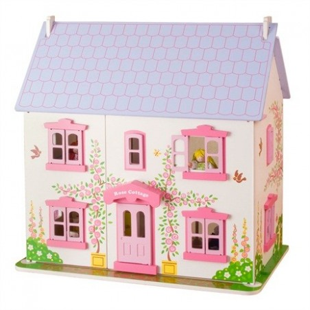Bigjigs poppenhuis Rose Cottage