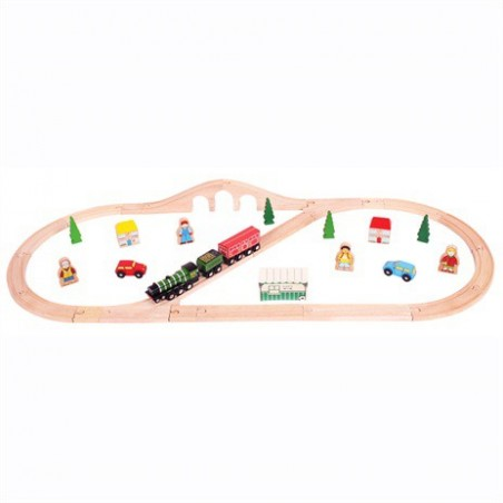 Bigjigs Flying Scotsman Trein Set