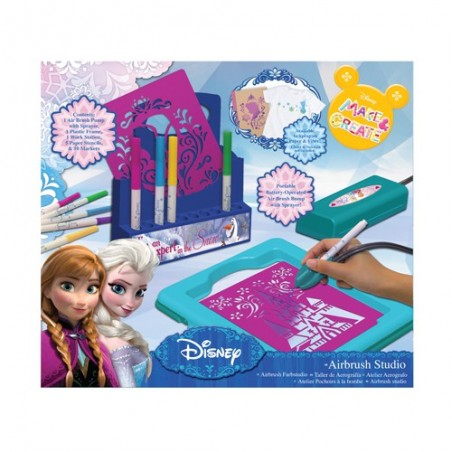 Frozen airbrush studio set