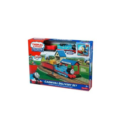 Thomas de trein Trackmaster: Carnival Delivery Set with Thomas
