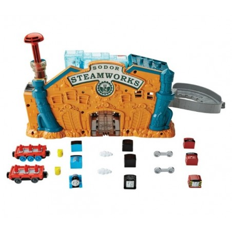 Thomas de trein Take n Play set: Engine Maker Speelset (Trein maker)